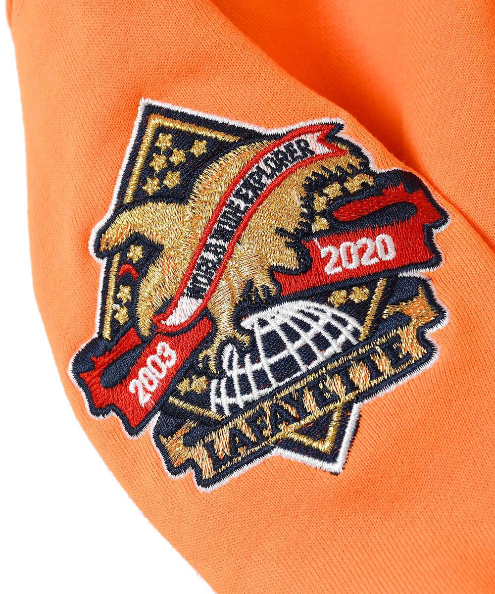 LFYT エルエフワイティー WWE 2020 LF LOGO HOODED SWEATSHIRT プルオーバーパーカー LA200504 ORANGE オレンジ