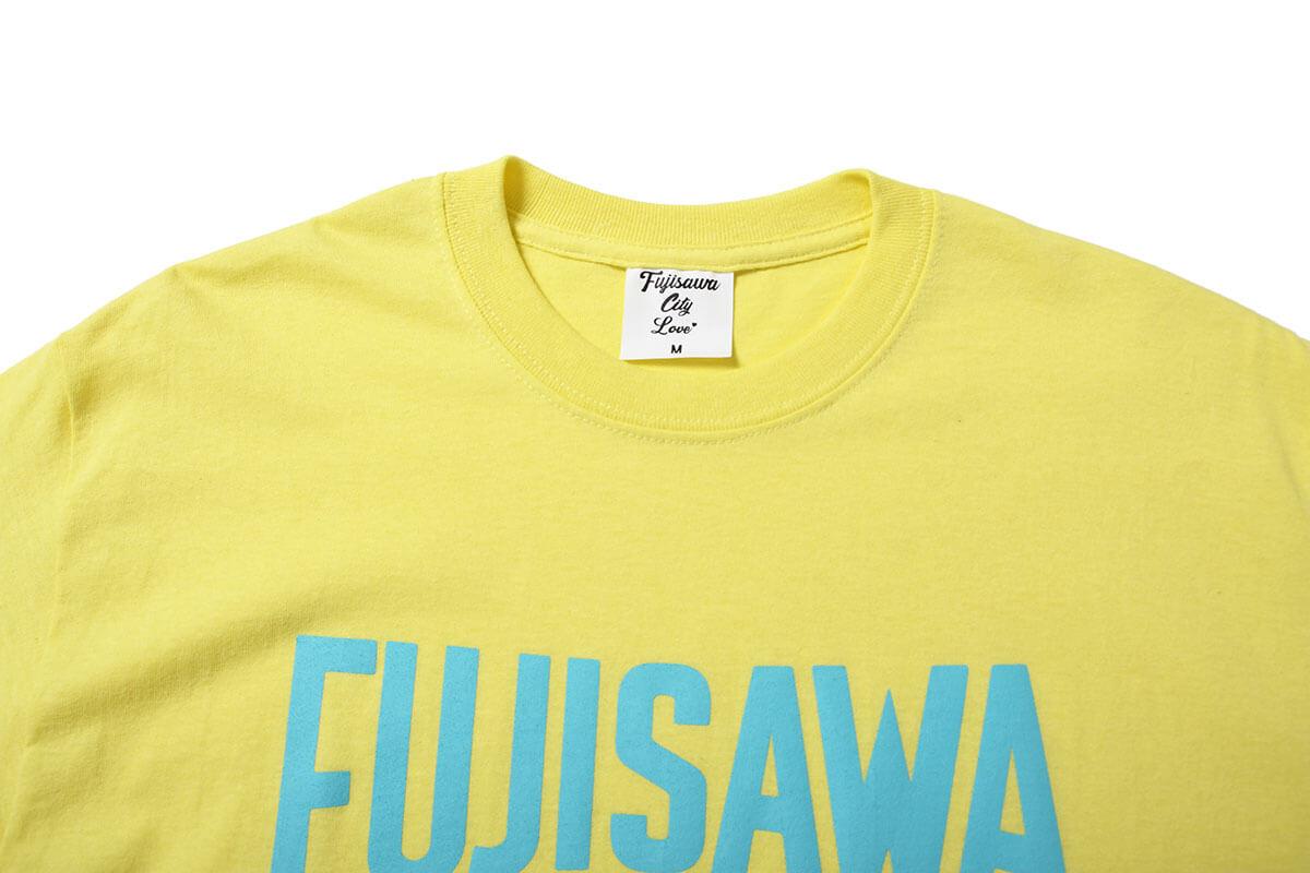 FUJISAWA CITY フジサワシティ LOGO TEE 半袖 Tシャツ YELLOW/BLUE イエロー/ブルー