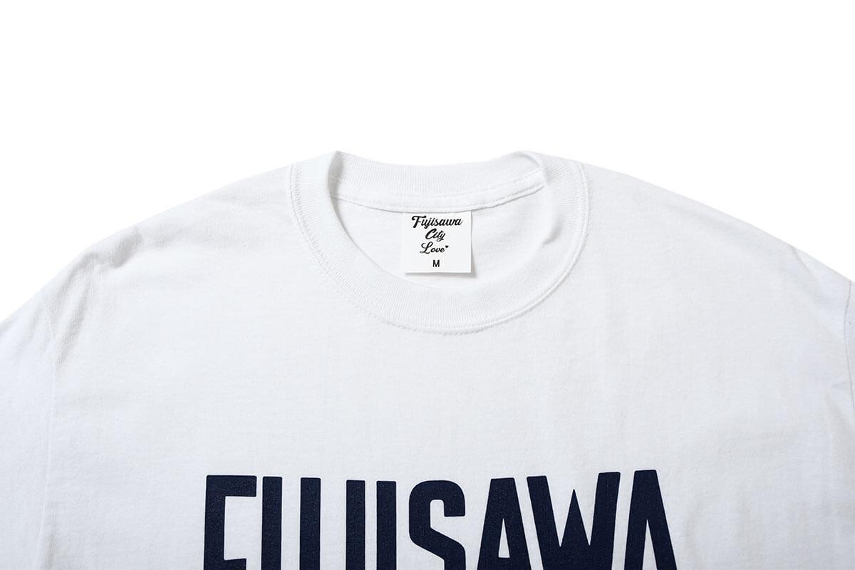 FUJISAWA CITY フジサワシティ LOGO TEE 半袖 Tシャツ WHITE ホワイト