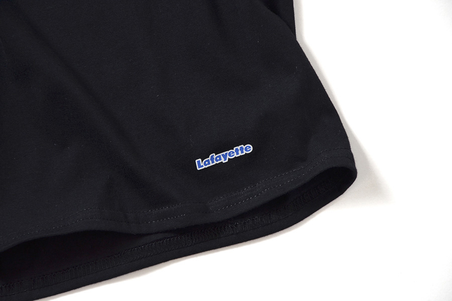 Lafayette ラファイエット 2 PACK CREW NECK LOGO TEE 二枚入り 半袖 Tシャツ LFTBL003 BLACK ブラック
