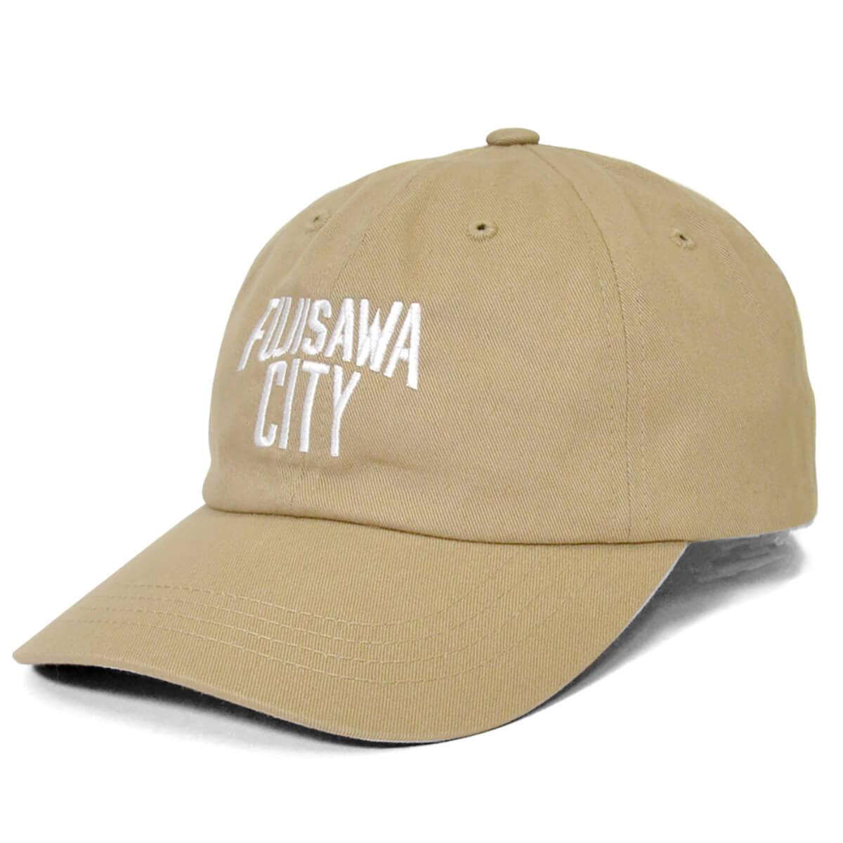 FUJISAWA CITY フジサワシティ LOGO DAD HAT ボールキャップ KHAKI カーキ