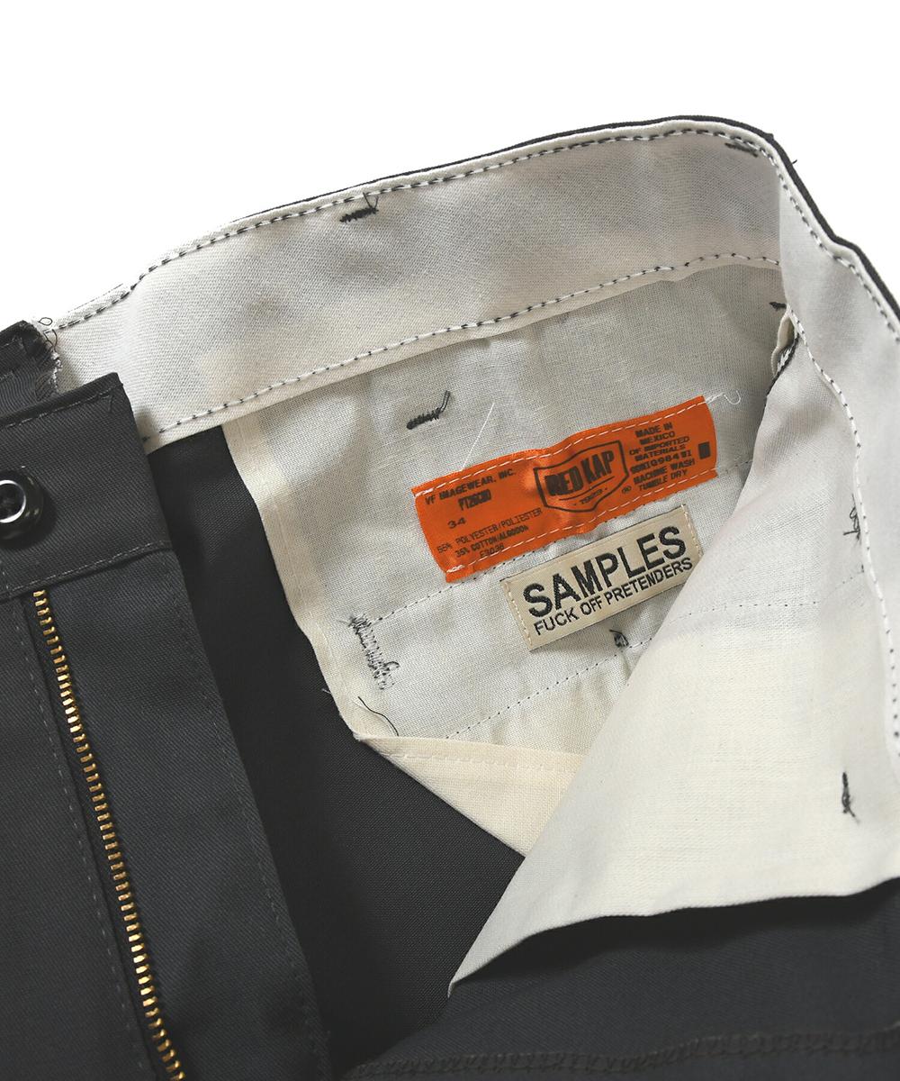 【受注予約:6月上旬頃発送】 SAMPLES FOP サンプルズ DIGGY SAM WORK SHORTS ワークショーツ CHARCOAL チャコール