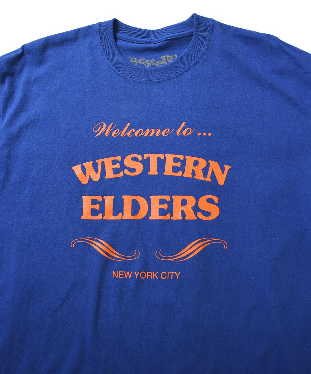 WESTERN ELDERS ウエスタン エルダーズ WELCOME HOME TEE 半袖 Tシャツ ROYAL ロイヤル