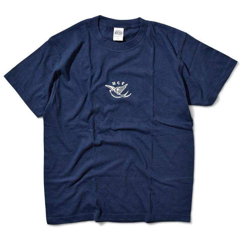 THE NEACRAP ザ ニアクラップ C.T.S TEE 半袖 Tシャツ NAVY ネイビー