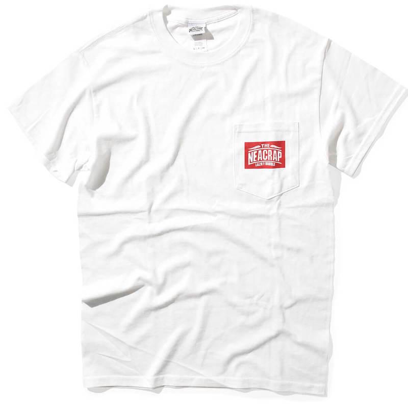 THE NEACRAP ザ ニアクラップ NCP LOGO TEE 半袖 Tシャツ WHITE ホワイト
