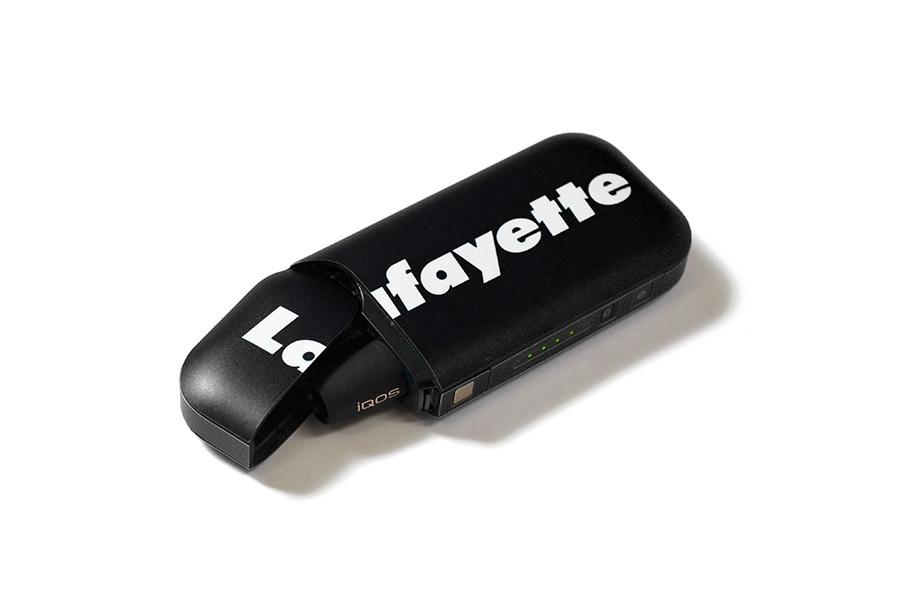 Lafayette ラファイエット LOGO iQOS SKIN アイコス用ステッカー LFTBL006 BLACK ブラック