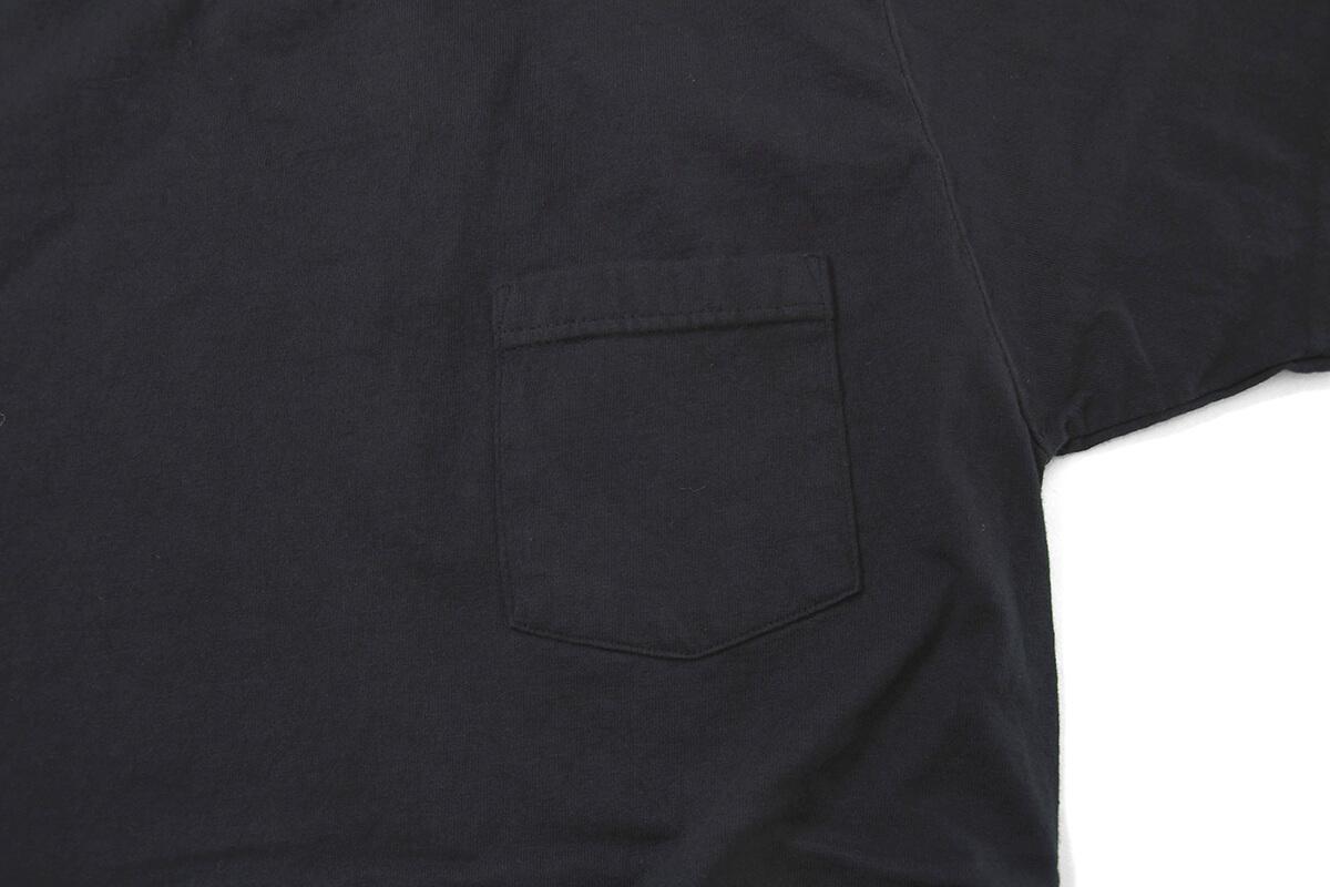 GOODWEAR グッドウェア S/S POCKET TEE 半袖 ポケット Tシャツ BLACK ブラック