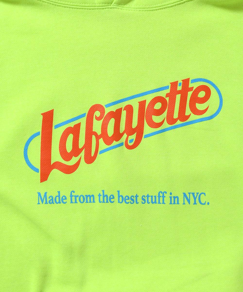 LFYT エルエフワイティー BEST STUFF HOODED SWEATSHIRT プルオーバーパーカー LA200502 SAFETY GREEN セーフティーグリーン