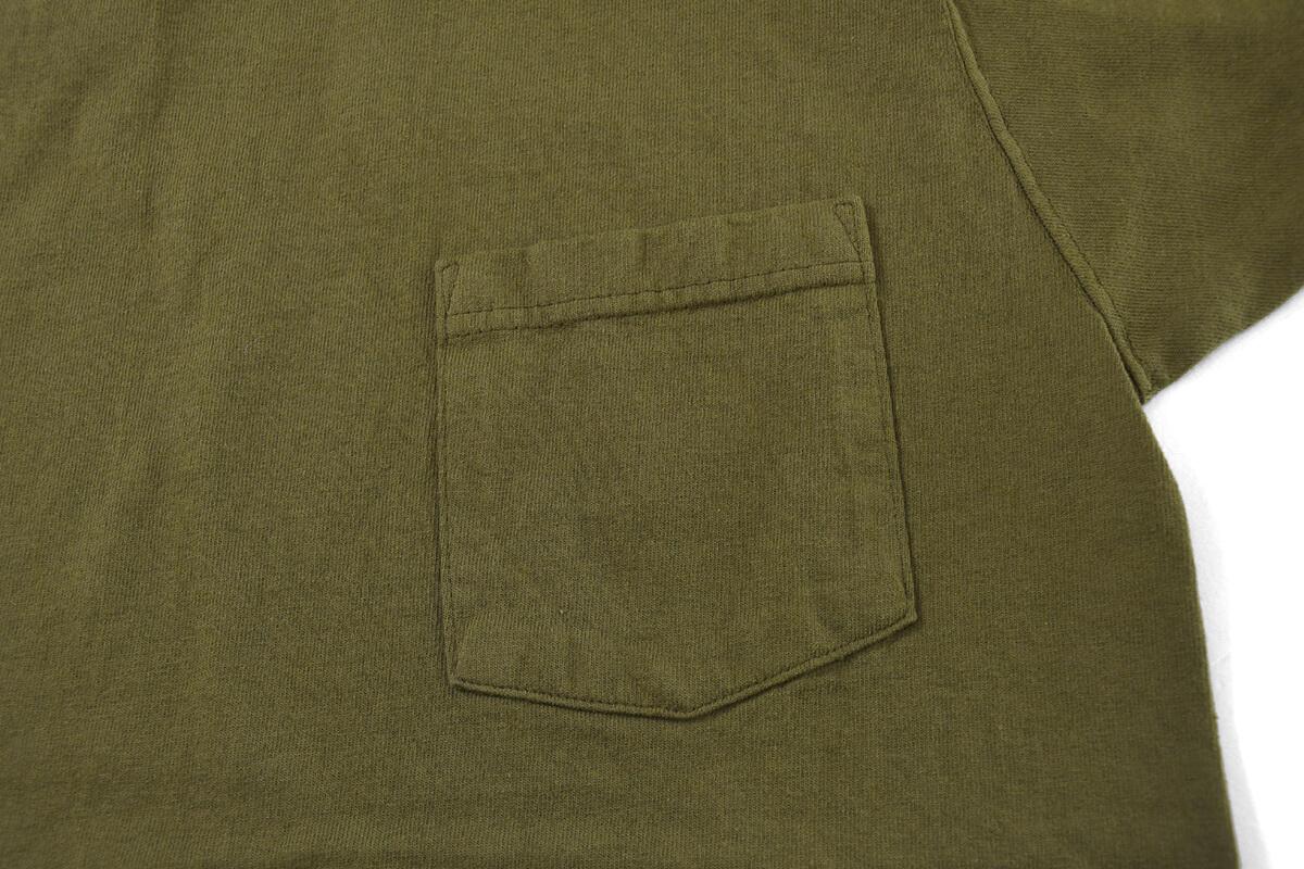 GOODWEAR グッドウェア S/S POCKET TEE 半袖 ポケット Tシャツ NEW OLIVE ニューオリーブ