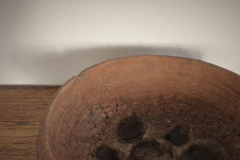 モロッコ素焼きの平皿 ボウル