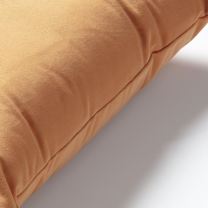 JOLIE Cushion cover 30x50 velvet orange