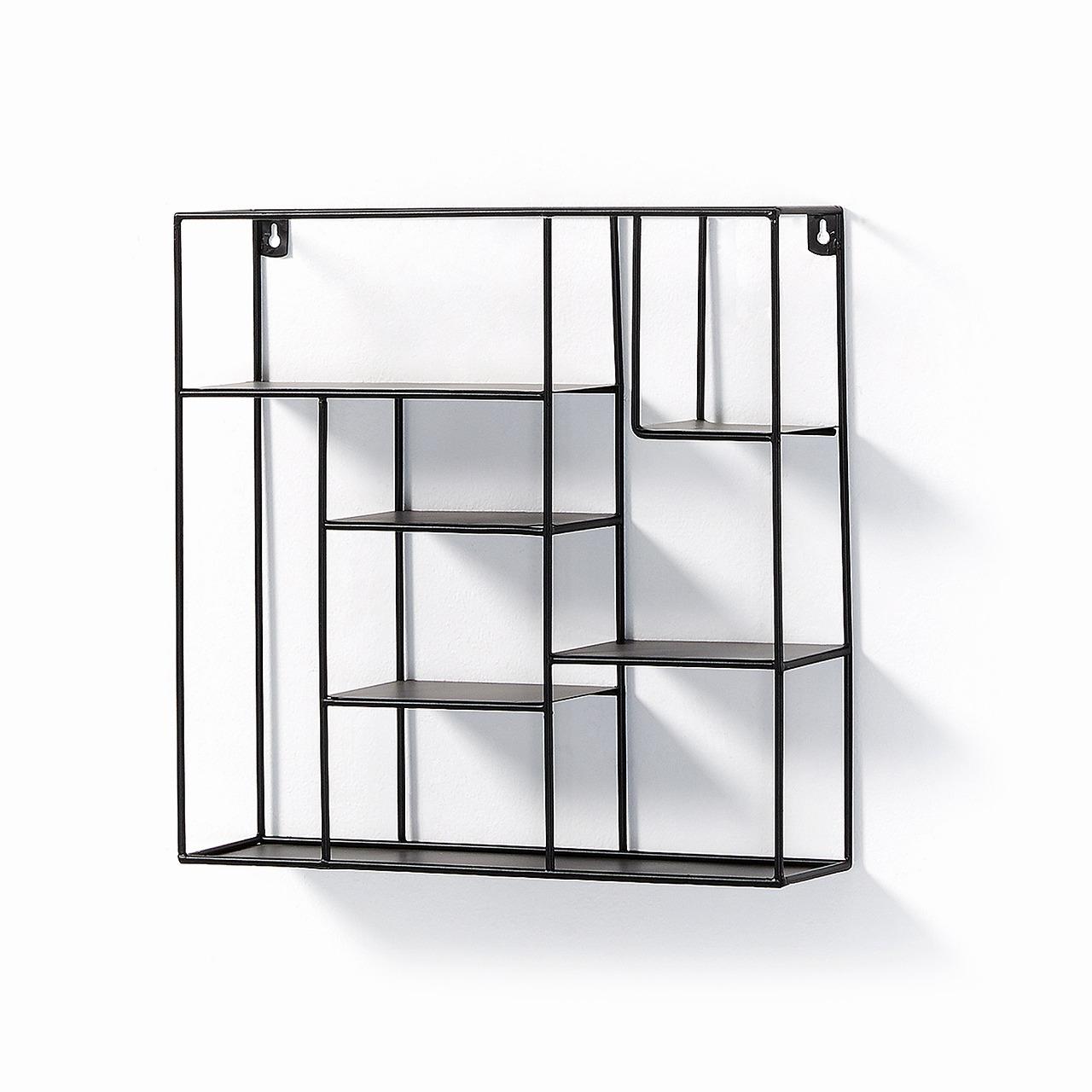 NETH Wall shelf metal black