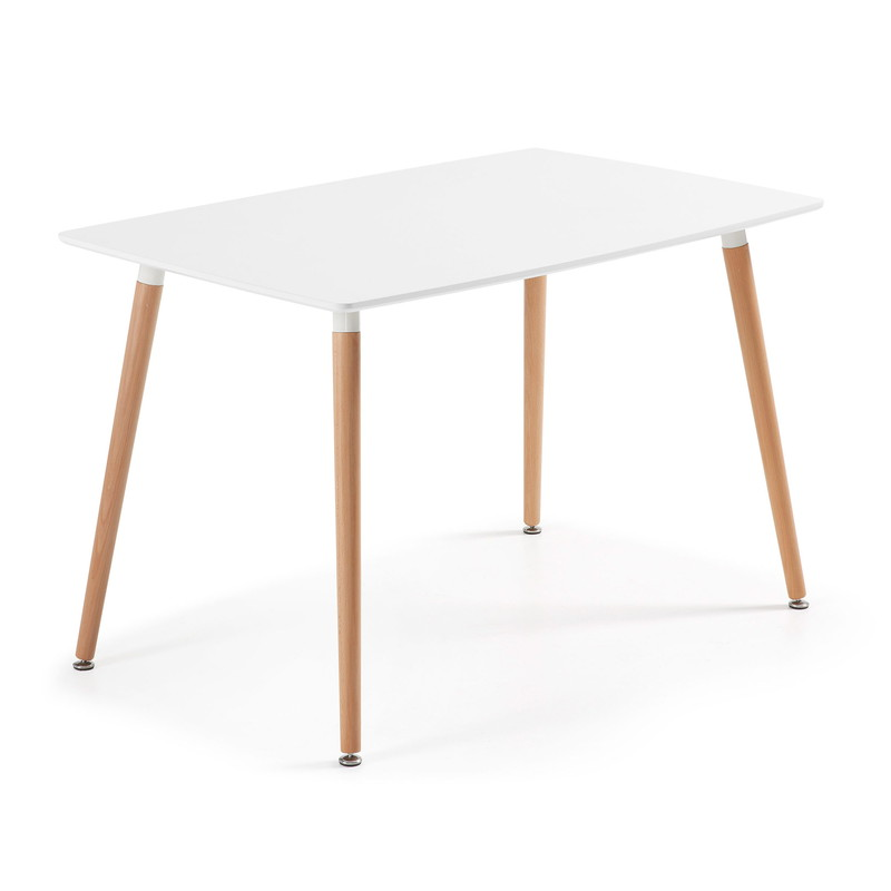DAW Table 120x75  white Lacquered