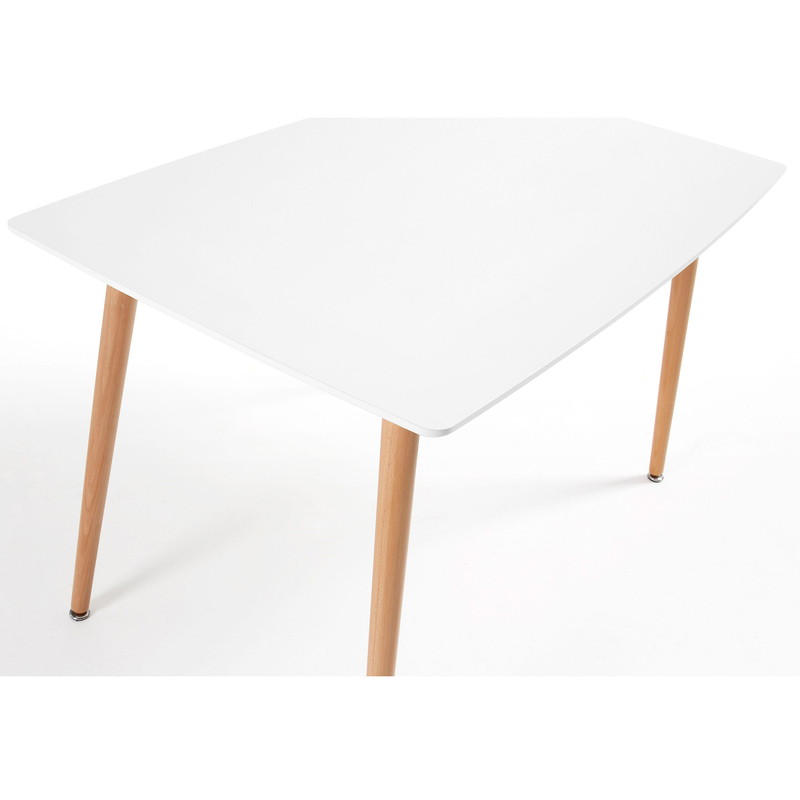 【SALE】DAW Table 120x75  white Lacquered