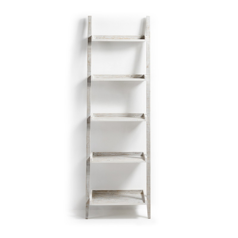 【SALE】WOODY Shelf 65x204 pine wood white wash