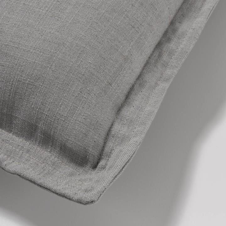 Grey Maelina cushion cover 45 x 45 cm