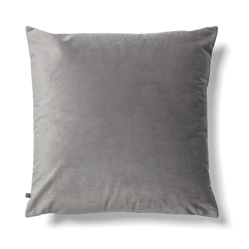 JOLIE Cushion cover 45x45 velvet grey