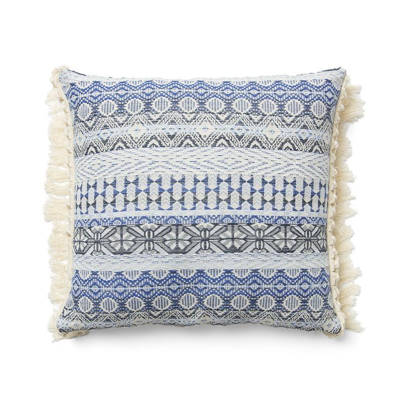 ISTHAR Cushion cover 45x45 fabric blue