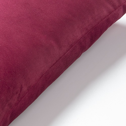 JOLIE Cushion cover 45x45 velvet burgundy