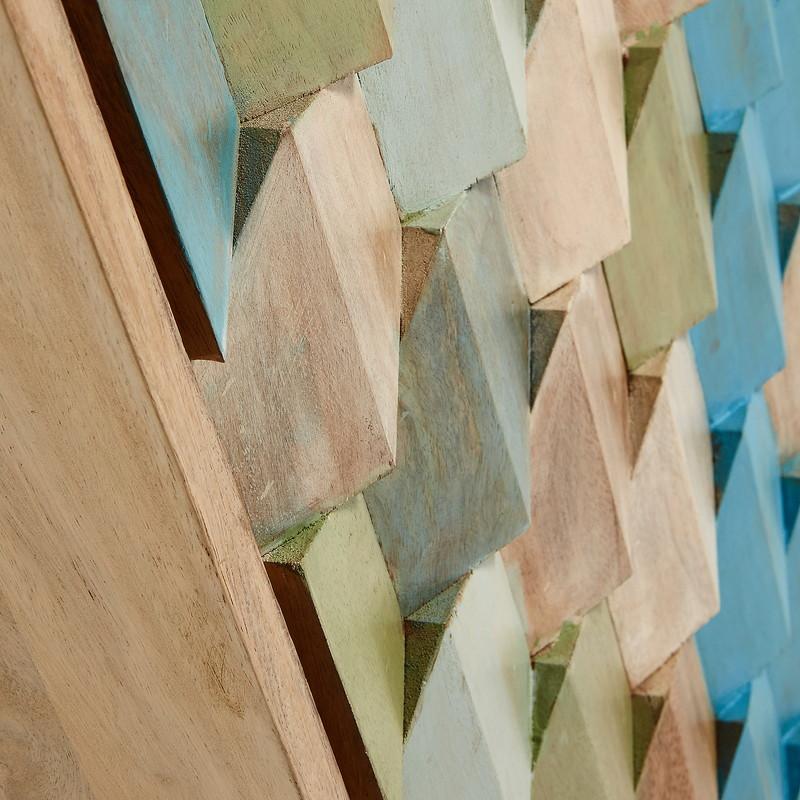 【SALE】ILKA Cabinet 85x140 wood mango multicolor