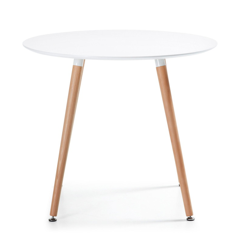 【SALE】DAW Table 100×73 white Lacquered