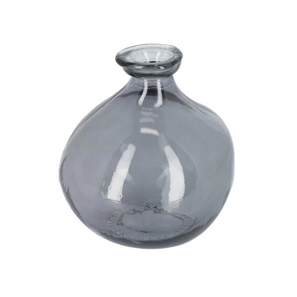 ANNER Vase glass blue