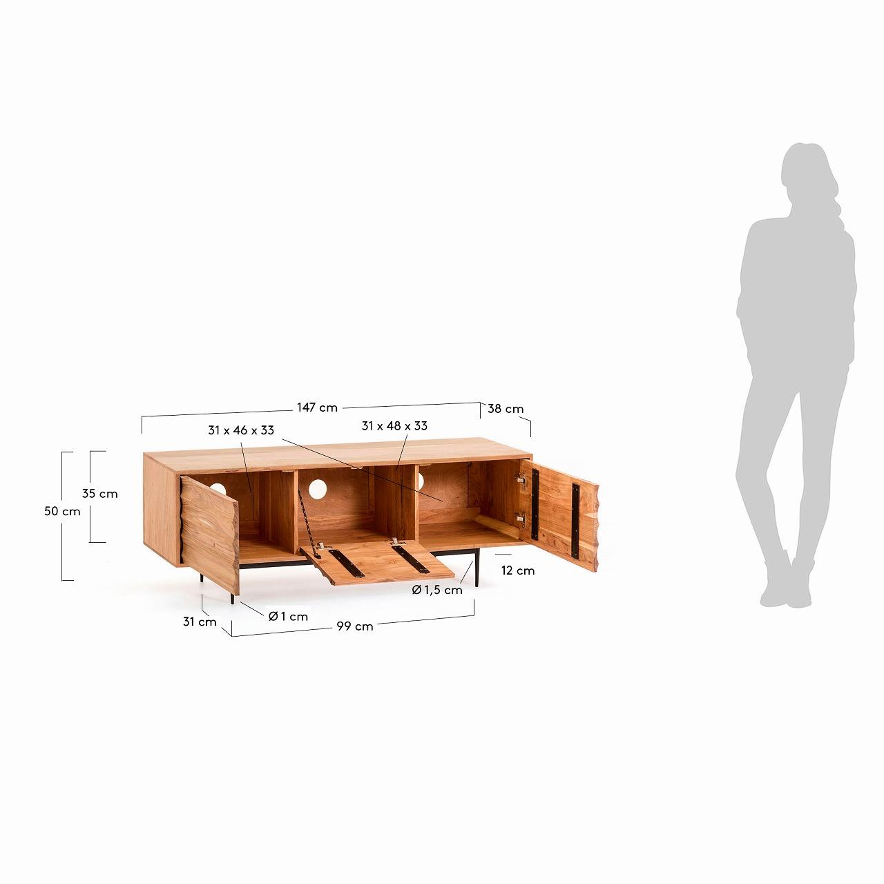 Delsie TV cabinet