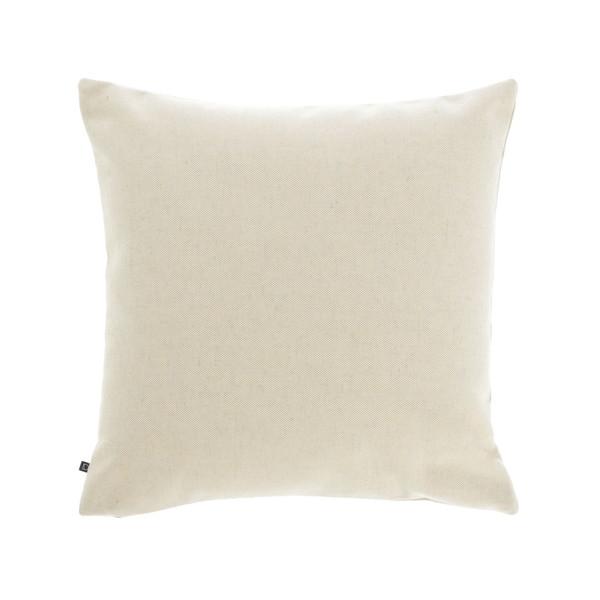 Beige Nedra cushion cover 45 x 45 cm