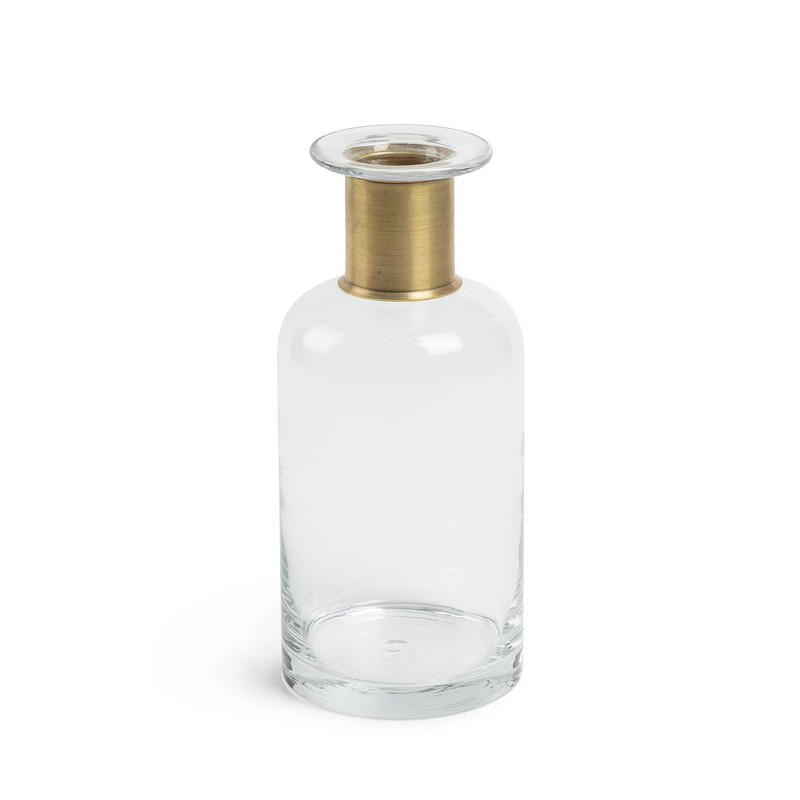 INTER Vase 27 cm clear glass