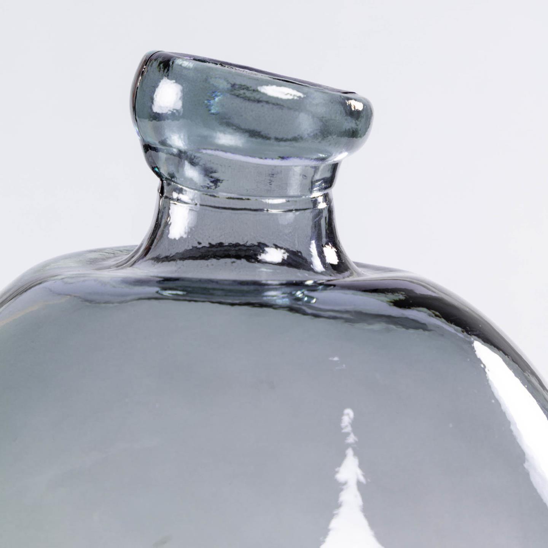 ANNER Vase 33 cm 100% recycled dark blue glass