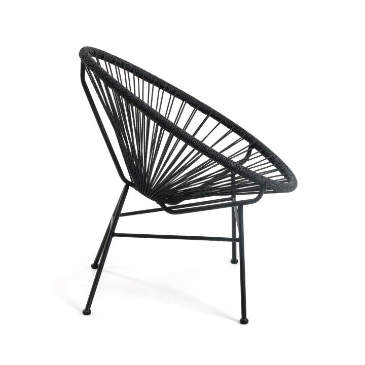 Black Samantha armchair