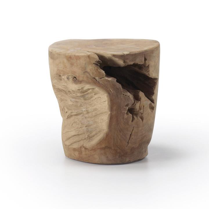 ANAPORT Side table wood teak