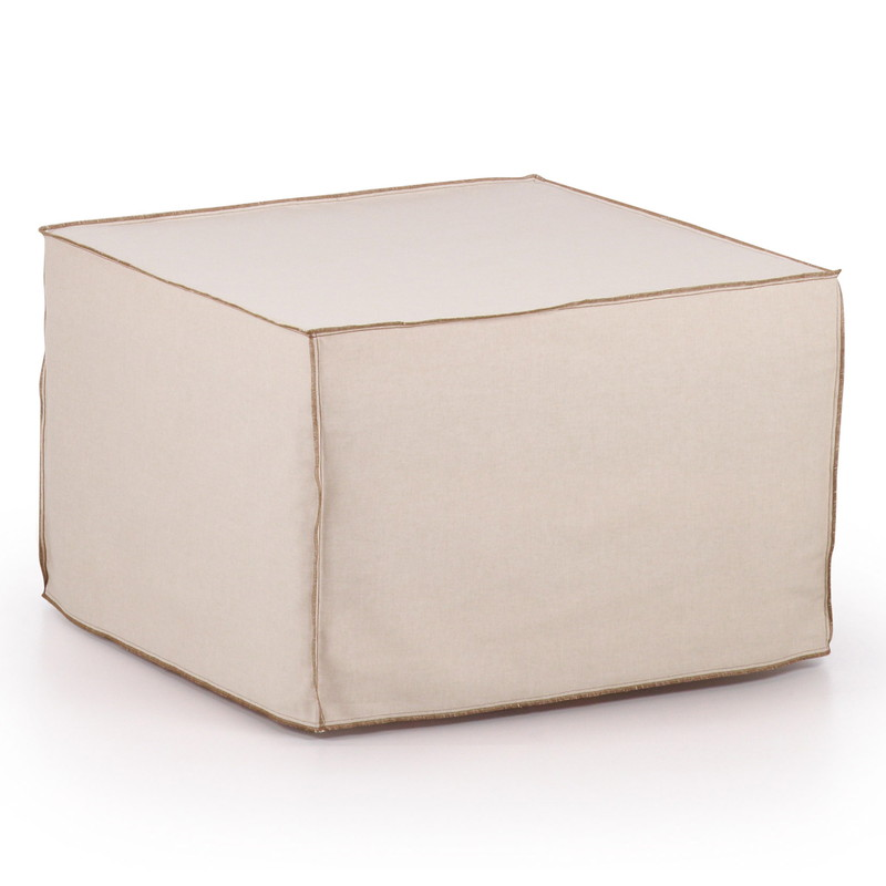 【SALE】VERSO Pouf bed Cream