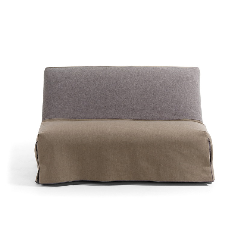【SALE】JOLLY Sofa bed 140 fabric brown