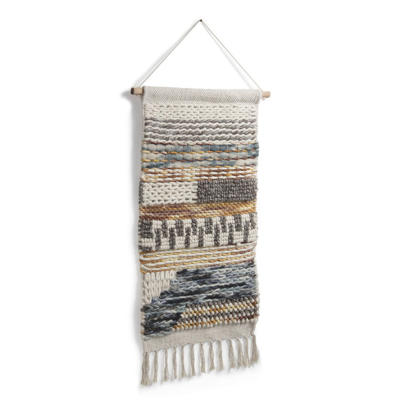 EMNIO Wall tapestry cotton wool multicolor
