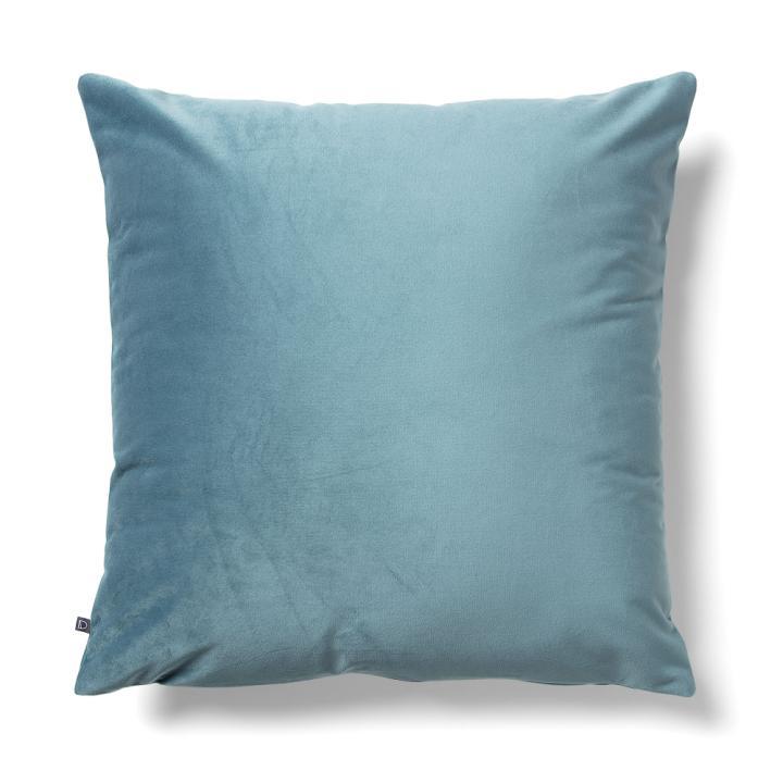 JOLIE Cushion cover 45x45 velvet turquoise