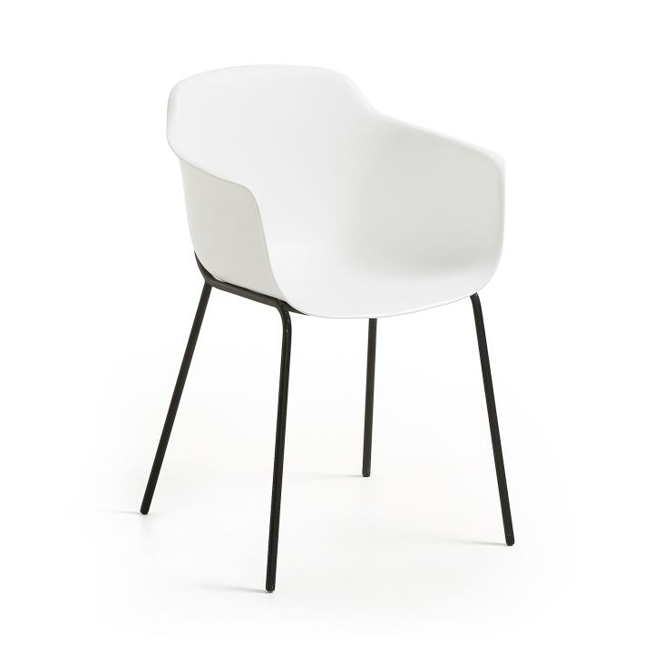 White Khasumi chair