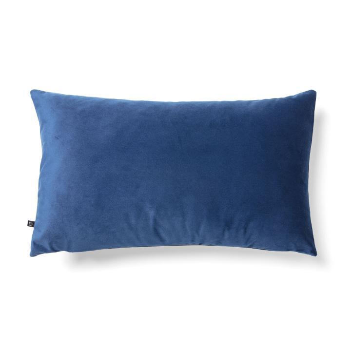 JOLIE Cushion cover 30x50 velvet dark blue