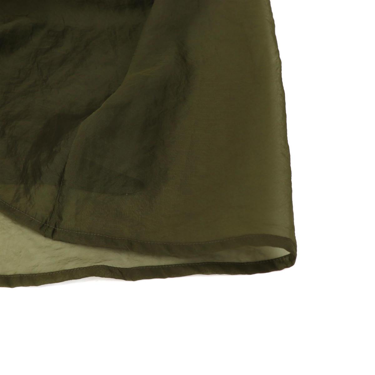 アッパーハイツ upper hights レディース オーガンジータックスカート DAY upper hights デイ アッパーハイツ Annie 213DP026 UPH(カーキ) 秋冬新作