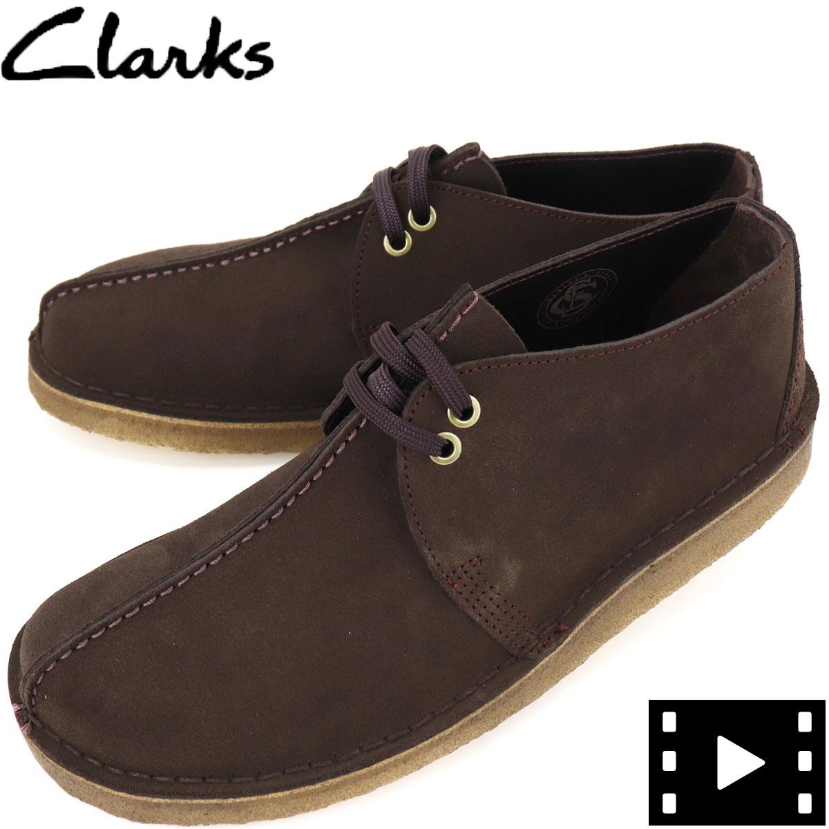 クラークス オリジナルズ CLARKS ORIGINALS メンズ デザートトレック DESERT TREK 26155488 DARK BROWN(ダークブラウン)秋冬新作