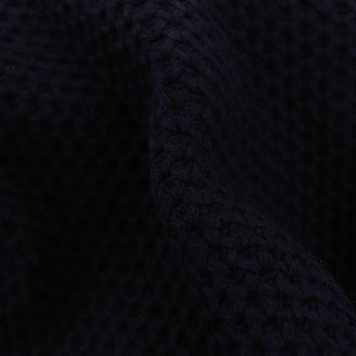 【クリアランスセール】ザノーネ ZANONE メンズ ウール プリマロフト ローゲージ ニットブルゾン ウォームキョート PRIMALOFT WARM CHIOTO 8112248 ZM251 Z1375(ネイビー)【返品交換不可】
