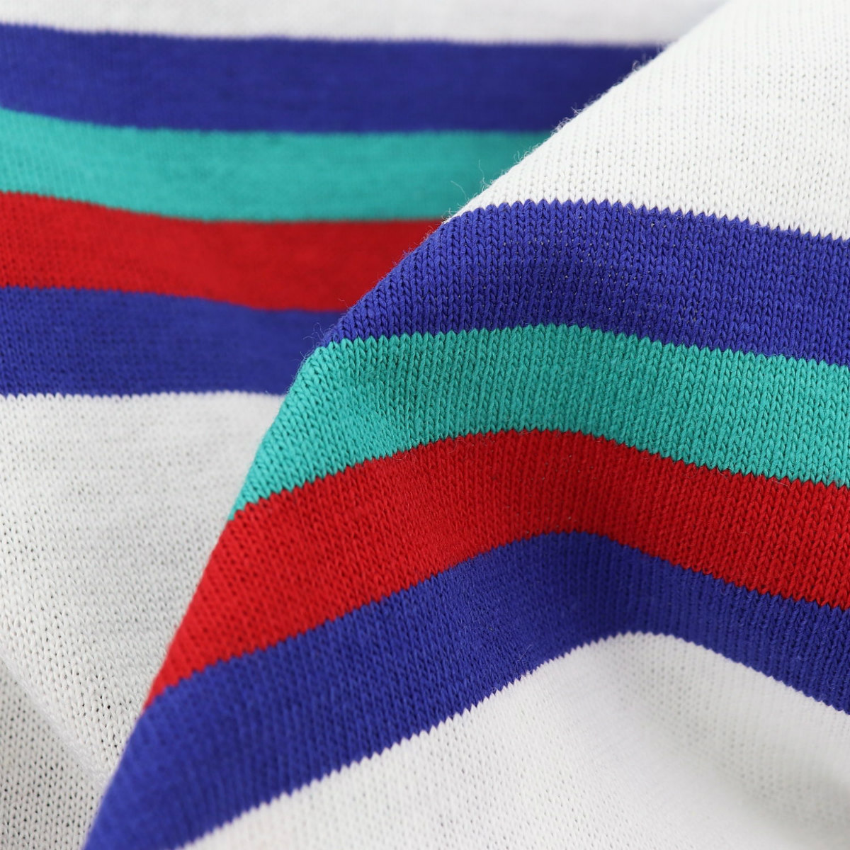 ルミノア Le minor メンズ コットン クルーネック ボーダー 半袖Tシャツ US/61375H LMN D8 BASE BLANC(ホワイト) 春夏新作