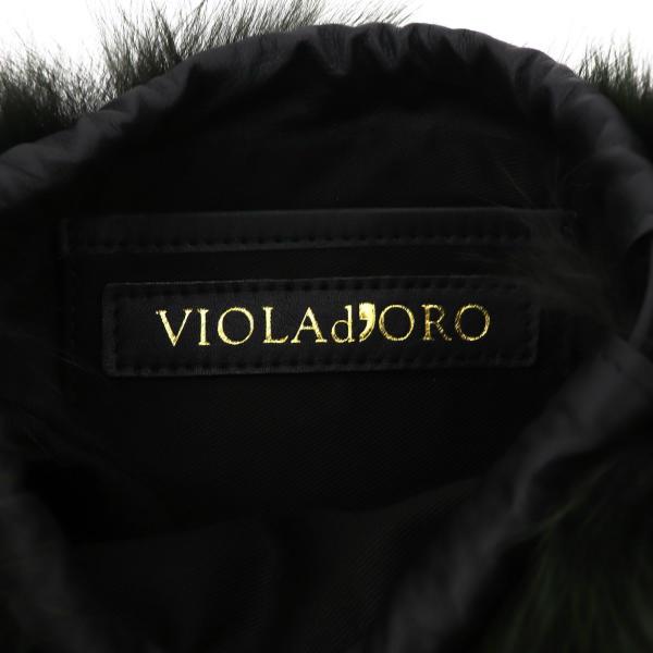 ヴィオラドーロ VIOLAd'ORO レディース フォックスファー ショルダーバッグ VOLPE V-8286 VLD KHAKI(カーキ)秋冬新作