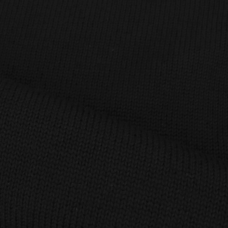 【クリアランスセール】ザノーネ ZANONE メンズ ミドルゲージニット クルーネック ウールセーター GIRO IF 811258 Z0229 Z0015(ブラック)【返品交換不可】