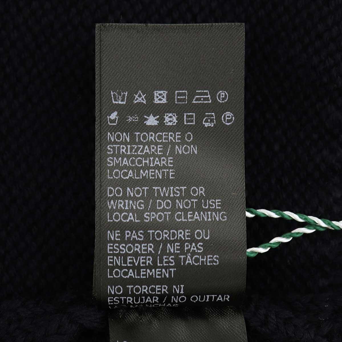 【クリアランスセール】ザノーネ ZANONE メンズ ミドルゲージニット クルーネック ウールセーター GIRO IF 811258 Z0229 Z1375(ネイビー)【返品交換不可】