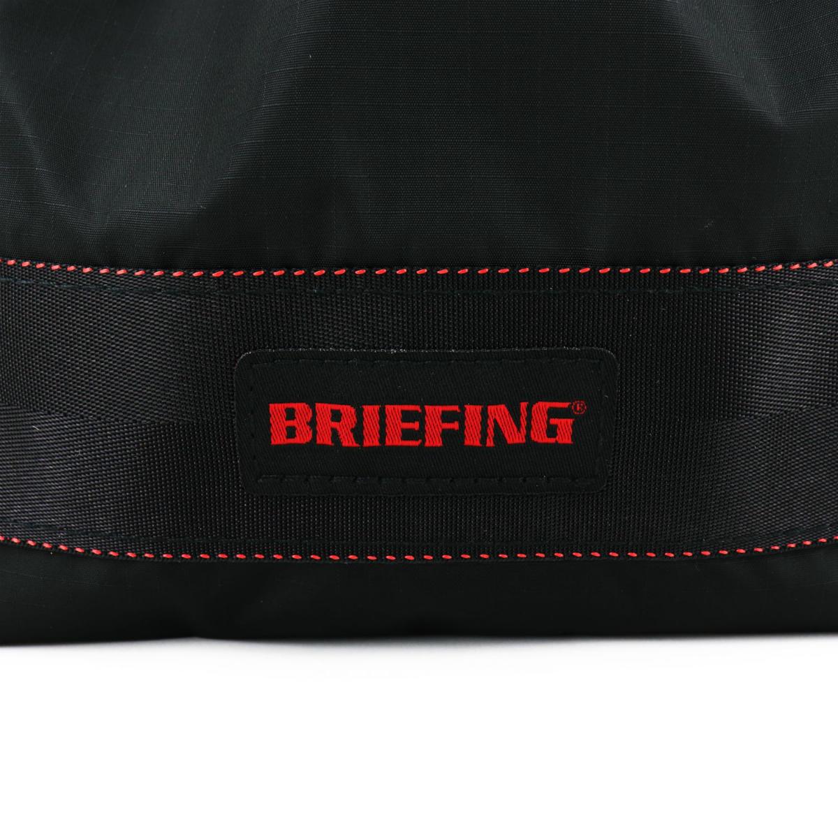ブリーフィングゴルフ BRIEFING GOLF VIROBLOCK DRAWSTRING POUCH S ドローストリングポーチ 100D RIPSTOP NYLON SERIES BRG211G23 BRG 010 BLACK(ブラック) 春夏新作