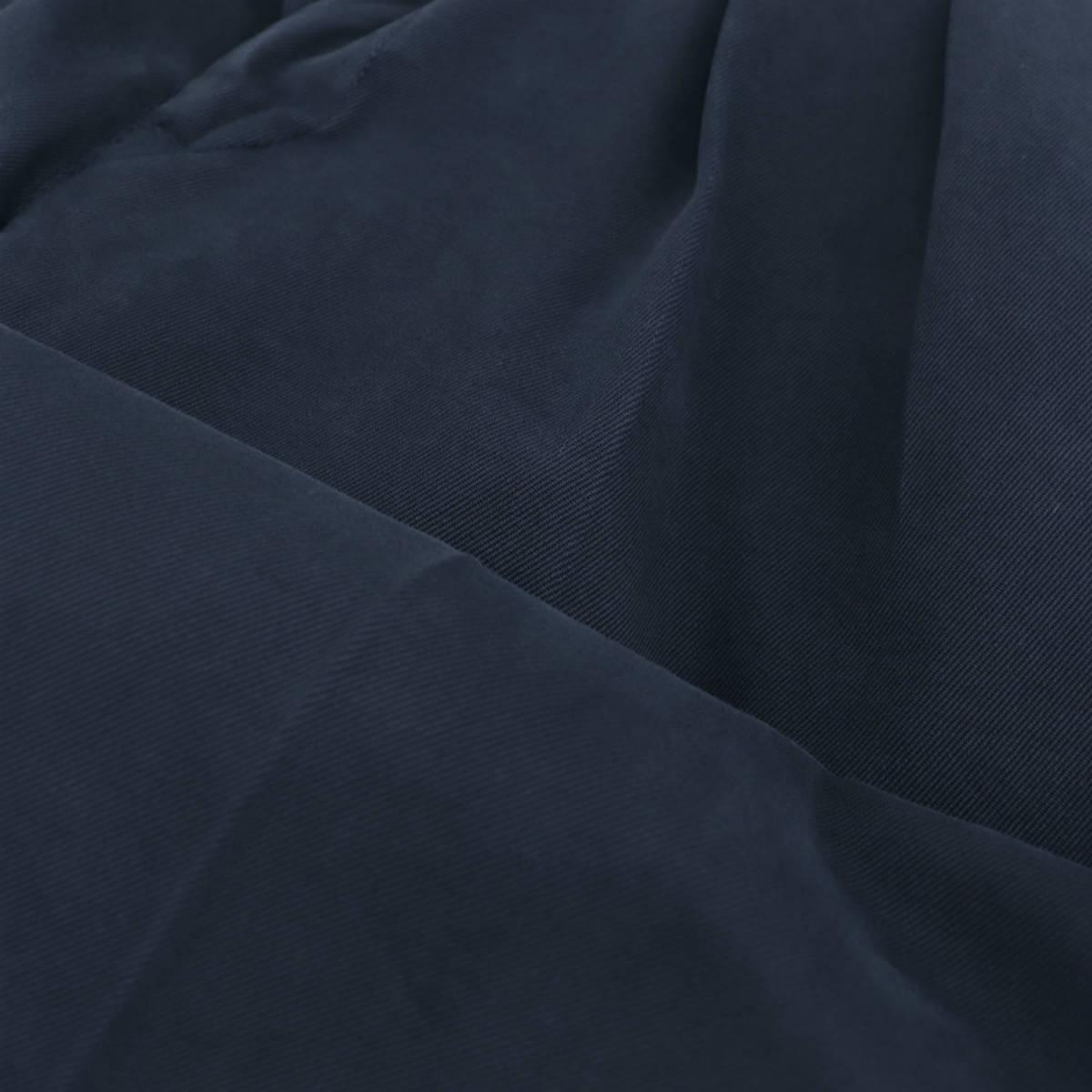 【決算セール】ピーティートリノ PT TORINO  キャロットフィット 2プリーツ チノクロスストレッチ テーパードパンツ COZTZLZ00AND (ネイビー)秋冬新作【返品交換不可】
