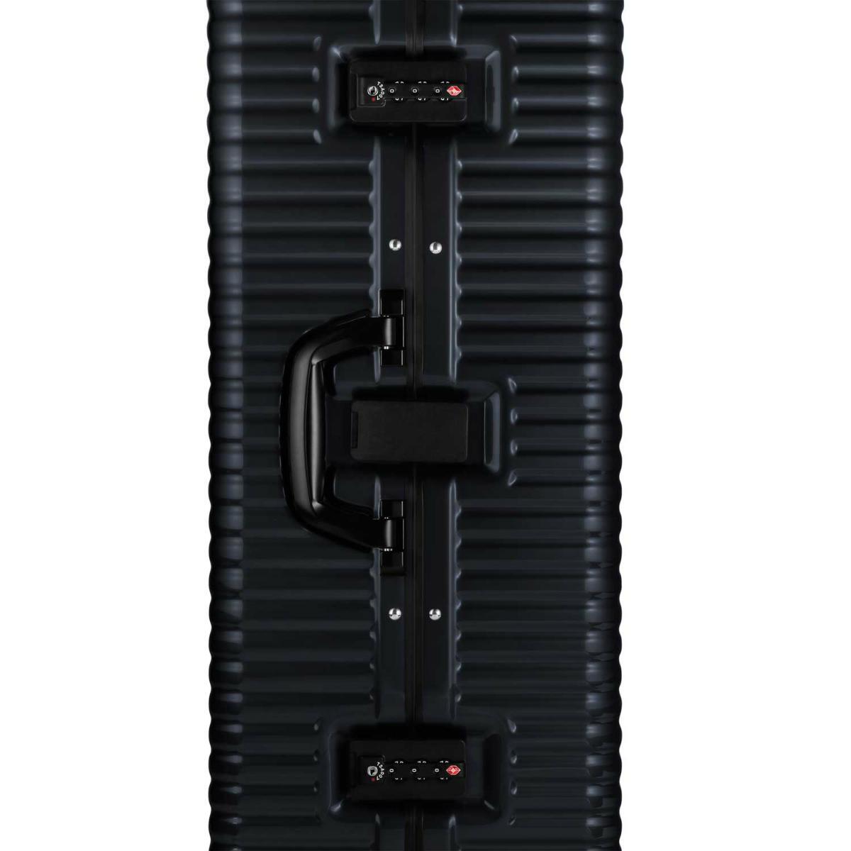 【クリアランスセール・GoTo トラベル】ランツォ LANZZO Norman Light ノーマン ライト 4輪 87L 約5.8kg ダイアルロック式 ポリカーボネート スーツケース PC29 42904 BLK(ブラック)【返品交換不可】special priceAM
