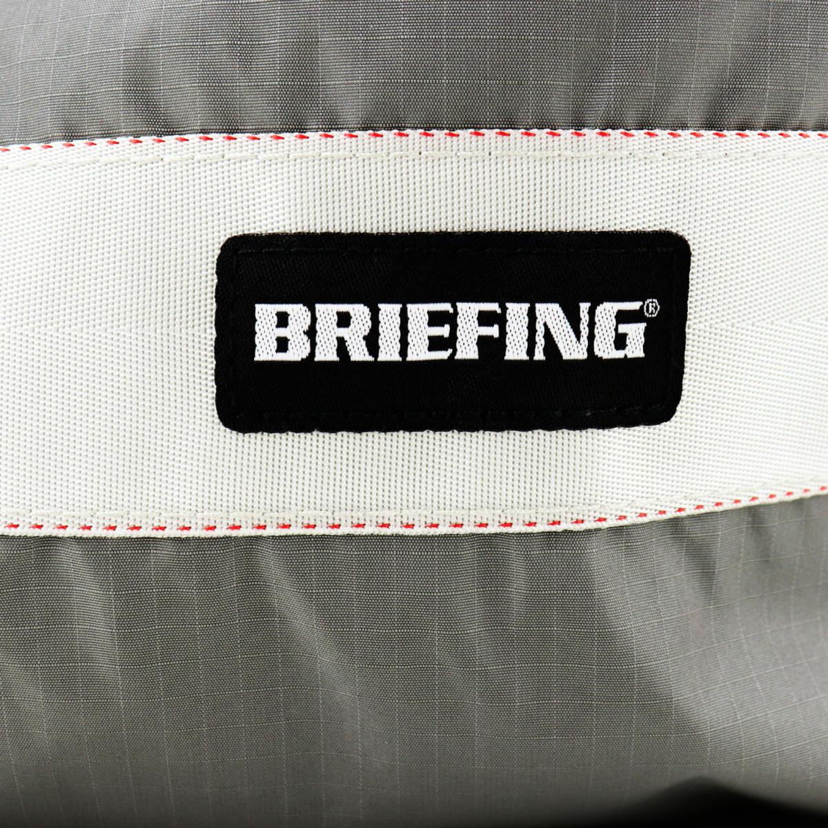 ブリーフィングゴルフ BRIEFING GOLF VIROBLOCK DRAWSTRING POUCH S ドローストリングポーチ 100D RIPSTOP NYLON SERIES BRG211G23 BRG 015 L.GRAY(グレー) 春夏新作