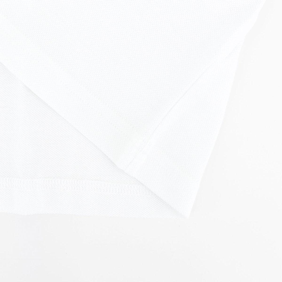 【クリアランスセール】ギローバー GUY ROVER メンズ コットン 鹿の子 クルーネック ポケット付Tシャツ 2850TC442 501500 (ホワイト)【返品交換不可】